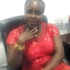 Francisca Amadigwe, Director Women Welfare/Fundraising