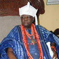 His Majesty DE Wheno Aholu Meno THE AKRAN OF BADAGRY (GBAGI)